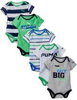 Puma Bodysuits - Pack of 5 (Baby Boys 0-9M)