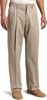Lee Uniforms Lee Men's Big-Tall Comfort Waist Custom Fit Pleated Pant