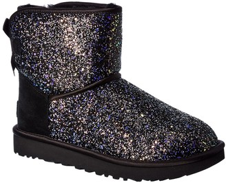 UGG Classic Mini Bow Cosmos Suede Bootie