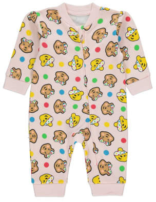 George Children in Need Pudsey Bear and Blush Sleepsuit