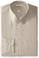 Van Heusen Men's Regular Fit Wrinkle Free Poplin Long Sleeve Shirt