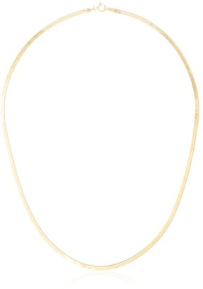 Loren Stewart 10kt Gold Herringbone Necklace