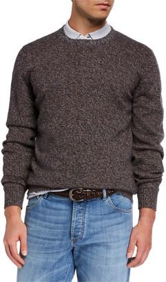 Brunello Cucinelli Men's Cashmere Crewneck Sweater