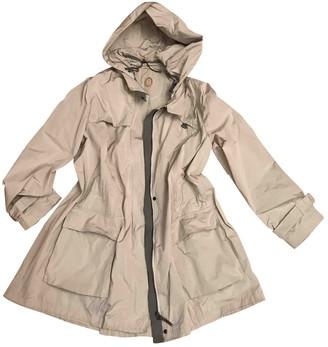 Trussardi Beige Coat for Women
