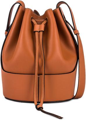 Loewe Balloon Small Bag in Tan | FWRD