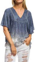 Anama Dip-Dye Paisley Top