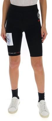 Burberry Printed Cycling Shorts
