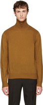Maison Margiela Tan Wool Turtleneck