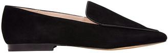 Jane Debster Haven Black Suede Loafer