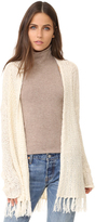 BB Dakota Murray Fringe Cardigan