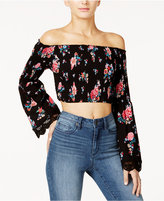 American Rag Off-The-Shoulder Crop Top, Only at Macy's