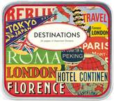Cavallini & Co. Decorative Stickers Destinations, Assorted