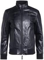 Blauer Leather jacket nero