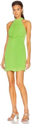 STAUD Mini Coastal Dress in Key Lime | FWRD