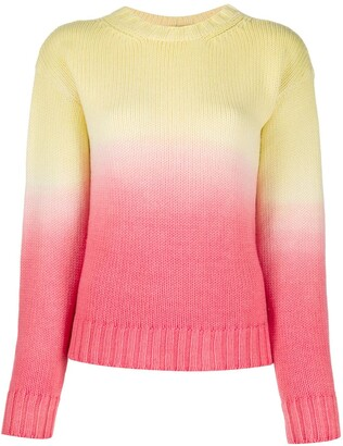 Alanui Wave Life ombre knit jumper