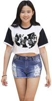 Me Women's Wu Tang Clan Crop T-shirt