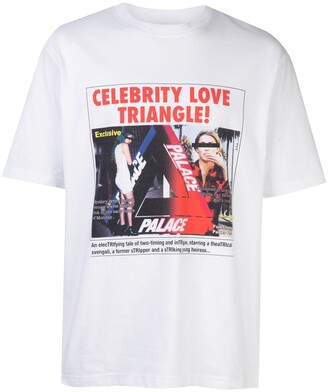 Palace love triangle T-shirt