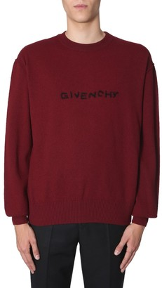 Givenchy Logo Embroidered Pullover