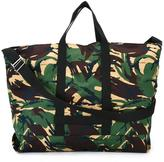 Off-White camouflage print tote