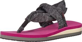 Chooka Women's Yoga Mat Footbed Sling Sport Sandal Flip-Flop