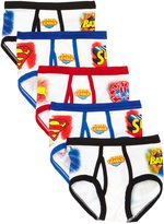 Fruit of the Loom Justice League Underoos 5 Pack Briefs for boys