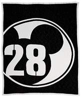 Ethan Allen | Disney Mickey Mouse 28 Varsity Knit Throw