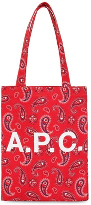 A.P.C. Bandana Printed Cotton Tote Bag