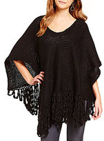 Collection 18 Wild Child Fringed Poncho