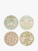 Thumbnail for your product : Morris & Co. Spode Cake Plates, Set of 4, 21.5cm, Multi
