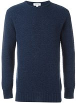 Soulland 'Ricketts' honey comb sweater - men - Wool/Polyamide - L