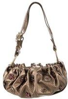 Stuart Weitzman Metallic Embellished Bag