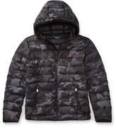 Ralph Lauren Packable Camo Down Jacket