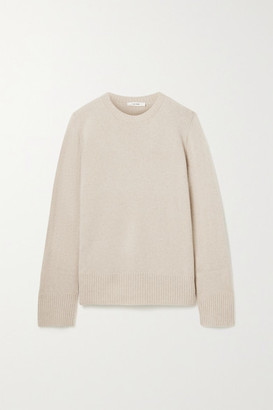 The Row Sibel Oversized Wool And Cashmere-blend Sweater - Beige