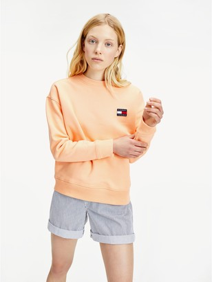 Tommy Hilfiger Organic Cotton Badge Sweatshirt