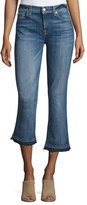 7 For All Mankind The Cropped Boot Jeans w/Released Hem, Chelsea Lights