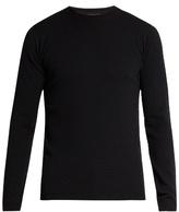 Giorgio Armani Circle-weave Wool-blend Sweater