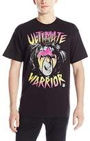 WWE Men's Neon Ultimate Warrior T-Shirt