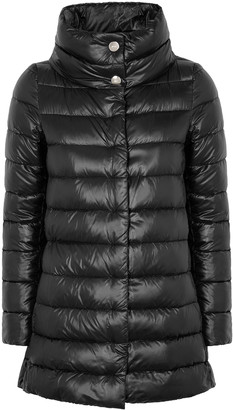 Herno Icon Black Shell Coat
