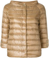 Herno padded zipped jacket