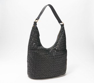 American Leather Co. Woven Hobo - Carrie