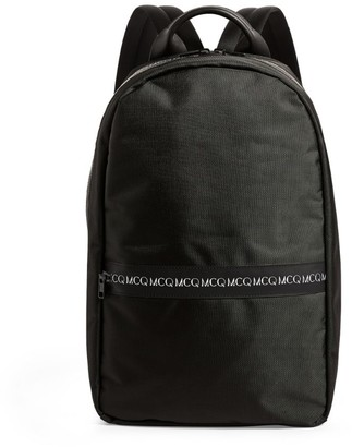 McQ Swallow Logo Trim Backpack