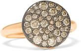 Pomellato Sabbia 18-karat Rose Gold Diamond Ring - 15