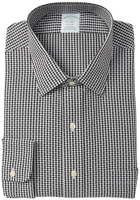 Brooks Brothers Extra Slim Fit Patterned Dress Shirt