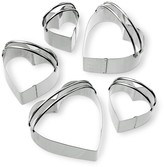 Williams-Sonoma Williams Sonoma Stainless-Steel Heart Biscuit 5-Piece Cookie Cutter Set