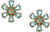Kate Spade Be Adorned Crystal Gold Plated Stud Earrings