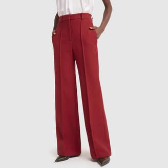 Victoria Beckham High Waisted Wide Leg Pants