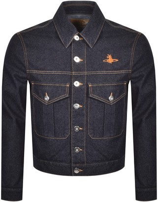 Vivienne Westwood Type Three Denim Jacket Navy