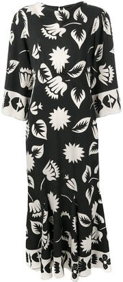 Etro Floral-Print Dress