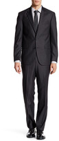 Kenneth Cole New York Shadow Check Two Button Notch Lapel Suit