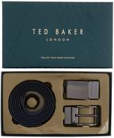 Ted Baker Leather Belt In A Box Gift Set